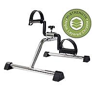 Eva Medical Pedal Exerciser Chrome Frame (Fully Assembled Exercise Peddler, no tools required)