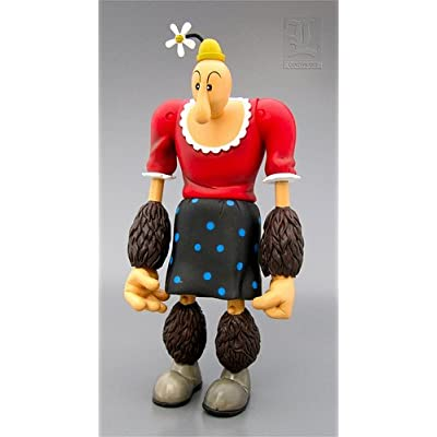 Amazon.com: Popeye the Sailorman Alice the Goon Action Figure