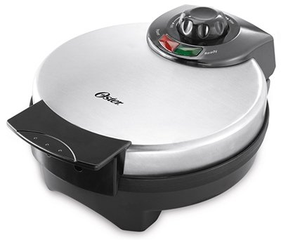 Sunbeam Products CKSTWF2000 Belgian Waffle Maker, Stainless Steel