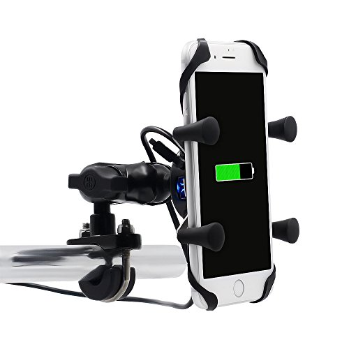 TurnRaise Motorcycle X-Grip Clamp Stand Holder