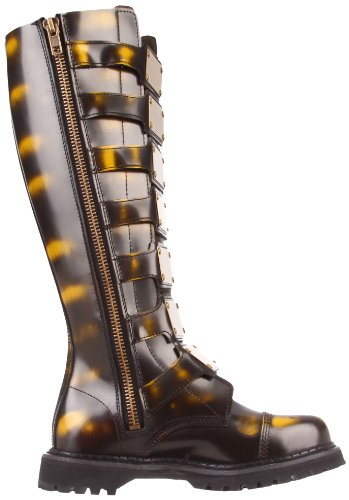 5 Demonia industrial punk 3 leather steampunk Steam shoes 13 gothic 30 boots qvrxgwqZ