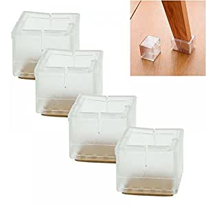 dining room chair leg protectors | Amazon.com: MAXGOODS Chair Leg Protectors,12 Chair Leg ...