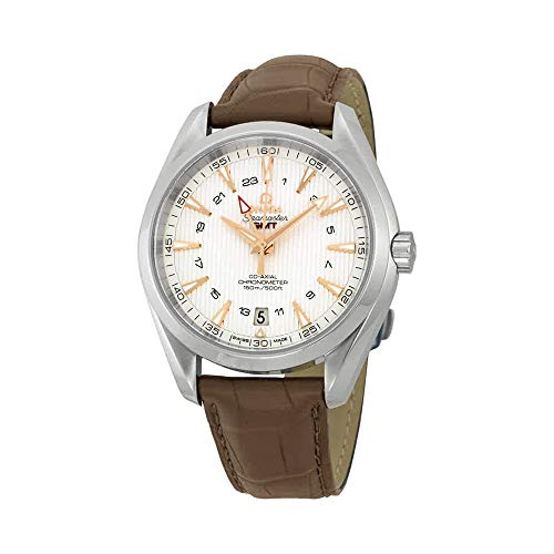 Omega Seamaster Aqua Terra GMT Chronometer Silver Dial Men's Watch ()