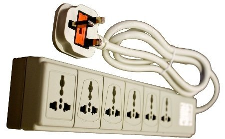 The 220 Volt Plug Amazon Com >> Vct Wps Uk 220 240 Volt 6 Outlet Surge Protector With Uk Plug Ce Certified
