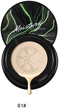 Pstars BB Cream Air Cushion Mushrooms Head Cushion Foundation Moisture Cover Concealer Natural Light Hydrating Long Lasting Anti-UV, Whitening, Anti-Aging 3-in-1 Products (A)