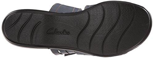 Clarks Leisa brocha vestido de la sandalia Captains Blue
