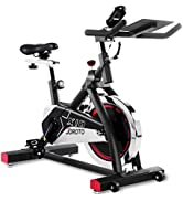 JOROTO Indoor Cycling Bike Exercise Bike with 35 pounds Flywheel and 10.2 inch Large Ipad Holder