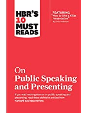 """HBR's 10 Must Reads on Public Speaking and Presenting (with featured article """"How to Give a Killer Presentation"""" By Chris Anderson)"""