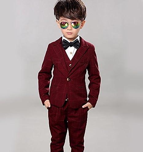 LOLANTA - Traje - para niño Rojo Rosso 5-6 Años: Amazon.es ...