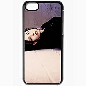 Personalized iPhone 5C Cell phone Case/Cover Skin Amy Lee Black