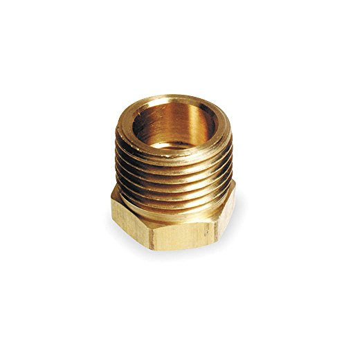 ANDERSON METALS 6MN60 Bushing, Brass, 3/8 In. x 1/4 -