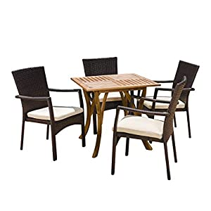 410SvruNumL._SS300_ Wicker Dining Tables & Wicker Patio Dining Sets