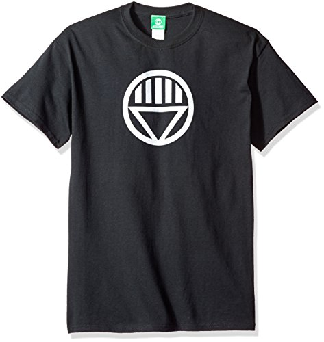 DC Comics Men's Green Lantern Black Lantern Logo T-Shirt