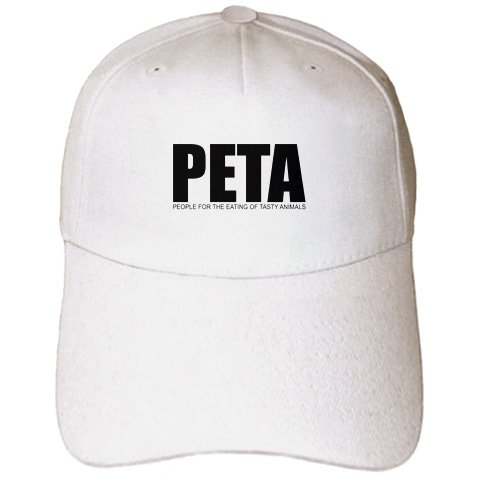 Animals Tasty Eating People (Mark Andrews ZeGear Cool - People For the Eating of Tasty Animals - Caps - Adult Baseball Cap (cap_32777_1))