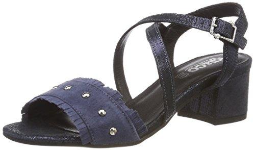 Sandalen amp;Co Dmu 11806 Blau Schwarz IGI Damen Peeptoe 11 Jeans x16qwFf