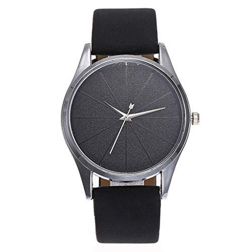 Men Watches On Sale Clearance, VANSOON Fashion Design Beautiful Simple Watch Ladies Leather Belt Watch Classic Digital Bracelet Watch for Men Gift ()