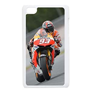 iPod 4 White Cell Phone Case Marc Marquez Clear Phone Cases