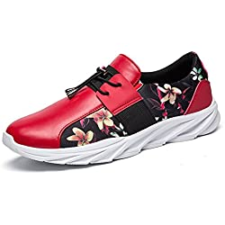 GIY Men Fashion Printing Low Top Round Toe Sneakers Comfortable Casual Sports Shoes
