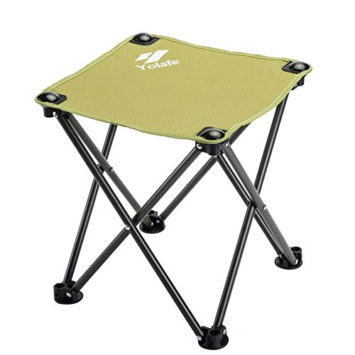 Yolafe Folding Camping Stool Portable Outdoor Oxford Chairs for Camping Fishing Hiking Gardening and Beach with Carrying Bag