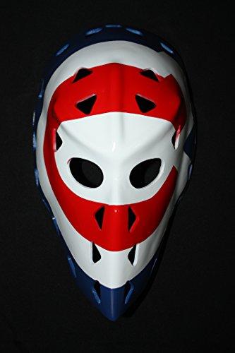 1:1 Custom Vintage Fiberglass Roller NHL Ice Hockey Goalie Mask Helmet Montreal Ken DRYDEN - Goalie Mask Vintage