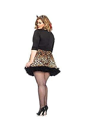 Leg Avenue Women's Plus-Size Wildcat