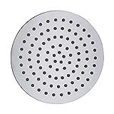 Vantory D801A Bathroom Chrome Stainless Steel Ultra Thin Shower Head Round 8'' Rain Style