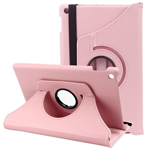 Photo - For Kindle accessories,Kshion Leather Shell Case Cover Shockproof [Anti Slip] for 2015 Amazon Kindle Fire HD 8 Inch Tablet (Pink)