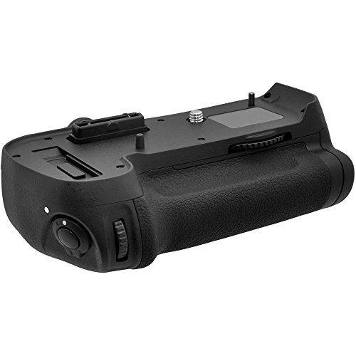 Vivitar MB-D12 Pro Series Multi-Power Battery Grip for Nikon D800, D800E & D810 Camera