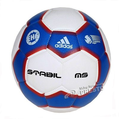 adidas Stabil III MS - Balón de balonmano azul blue beauty/white ...