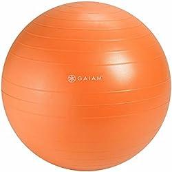Gaiam Balance Ball Chair Replacement Ball, Nectarine, 52cm