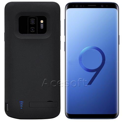 best website b2e6e f5961 Amazon.com: [Galaxy S9 Plus Battery Case] 6000mAh Detachable ...