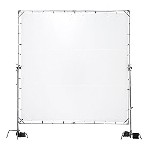 Pro Studio Solutions Giant 8ft x 8ft (2.4m x 2.4m) Sun Scrim - Collapsible Frame Diffusion Kit with Carry Bag by Fotodiox