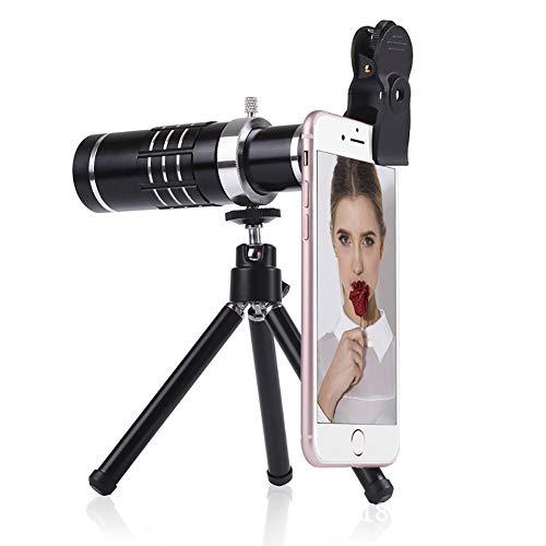 Nuevo kit de lente de cámara para teléfono móvil, lente de cámara para teléfono móvil 4K HD, 12 veces cabeza de...