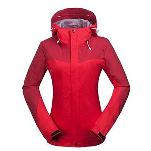 Wear Outdoor Negozio Rosso Giacche Mountain New Lady Sportswear Singolo Wu Lai nIwx46YqA8