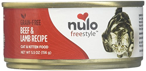 Nulo Cat Grain-Free Wet Cat Food - Beef & Lamb - 24 X 5.5oz