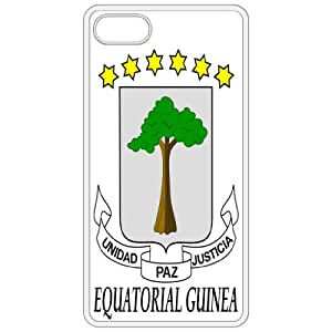 Equatorial Guinea - Coat Of Arms Flag Emblem White Apple Iphone 5 Cell Phone Case - Cover