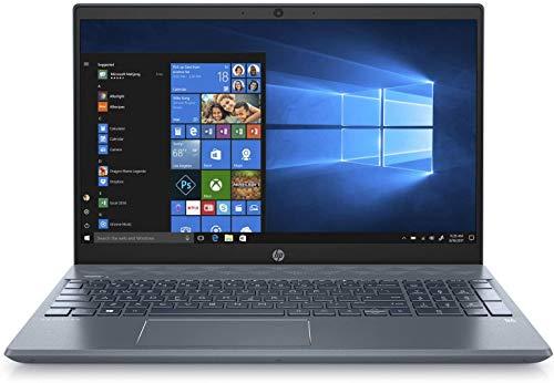"HP 15-cw1063wm Pavilion 15.6"" FHD Ryzen 5 3500U 2.1GHz 8GB RAM 1TB HDD 128GB SSD Win 10 Horizon Blue (Renewed)"
