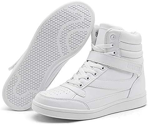 50d6120e895 UBFEN Women's Shoes Hidden Wedges 5.5cm Fashion Sneakers Ankle Boots ...