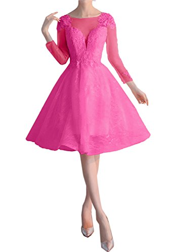 TOSKANA BRAUT - Vestido - trapecio - para mujer rosa 42