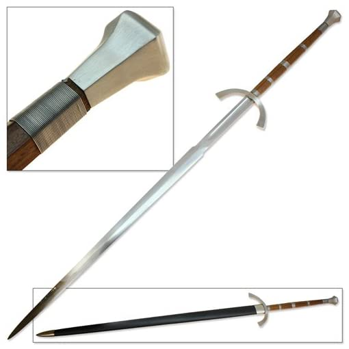 Cold Two Handed Great Sword Functional 1060 Forged Steel Claymore by Sugoi  Steel