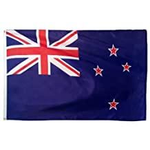 Online Stores New Zealand Printed Polyester Flag, 3 by 5-Feet