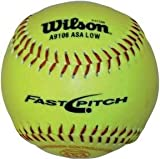 Olympia Sports BA220P Wilson 12 in. Fast Pitch Youth-Practice Softball