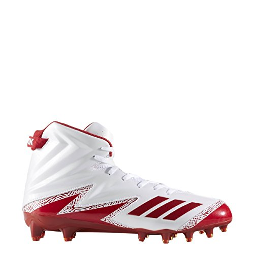Adidas Freak X Carbon High Cleat Mens Football Bianco-power Rosso