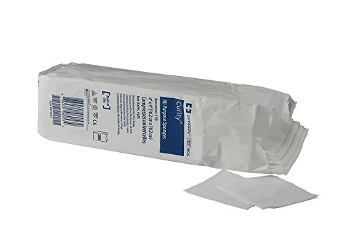 Covidien 9024 Curity Non-Woven All-Purpose Sponge, Non-Sterile, 4
