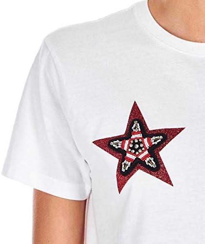 5 PROGRESS Luxury Fashion Donna 1170WHITE Bianco Cotone T-Shirt | Primavera-Estate 20