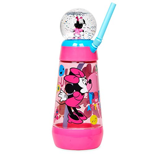 - Disney Store Mickey Mouse/Minnie Mouse/Frozen Snowglobe Tumbler with Straw (MINNIE MOUSE)