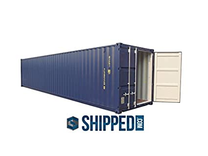 40ft NEW One Trip General Purpose Steel Shipping Container Secure