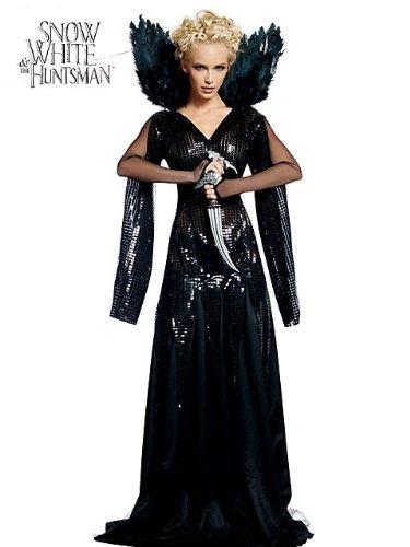 Deluxe Queen Ravenna Costume - Medium - Dress Size 10-14 (Snow White & The Huntsman Snow White Tween Costume)