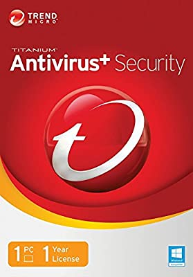 Trend Micro Titanium AntiVirus+ 2014 1 User [Old Version]