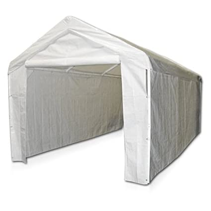 Sports 10'x20' Domain Carport Garage Sidewall/Enclosure Kit (Frame and Top Not Included)-236.00 x 117.00 x 104.00 Inches Car Canopy 12000211010